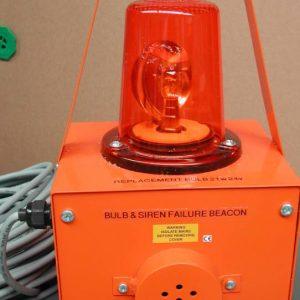 xray warning lamp